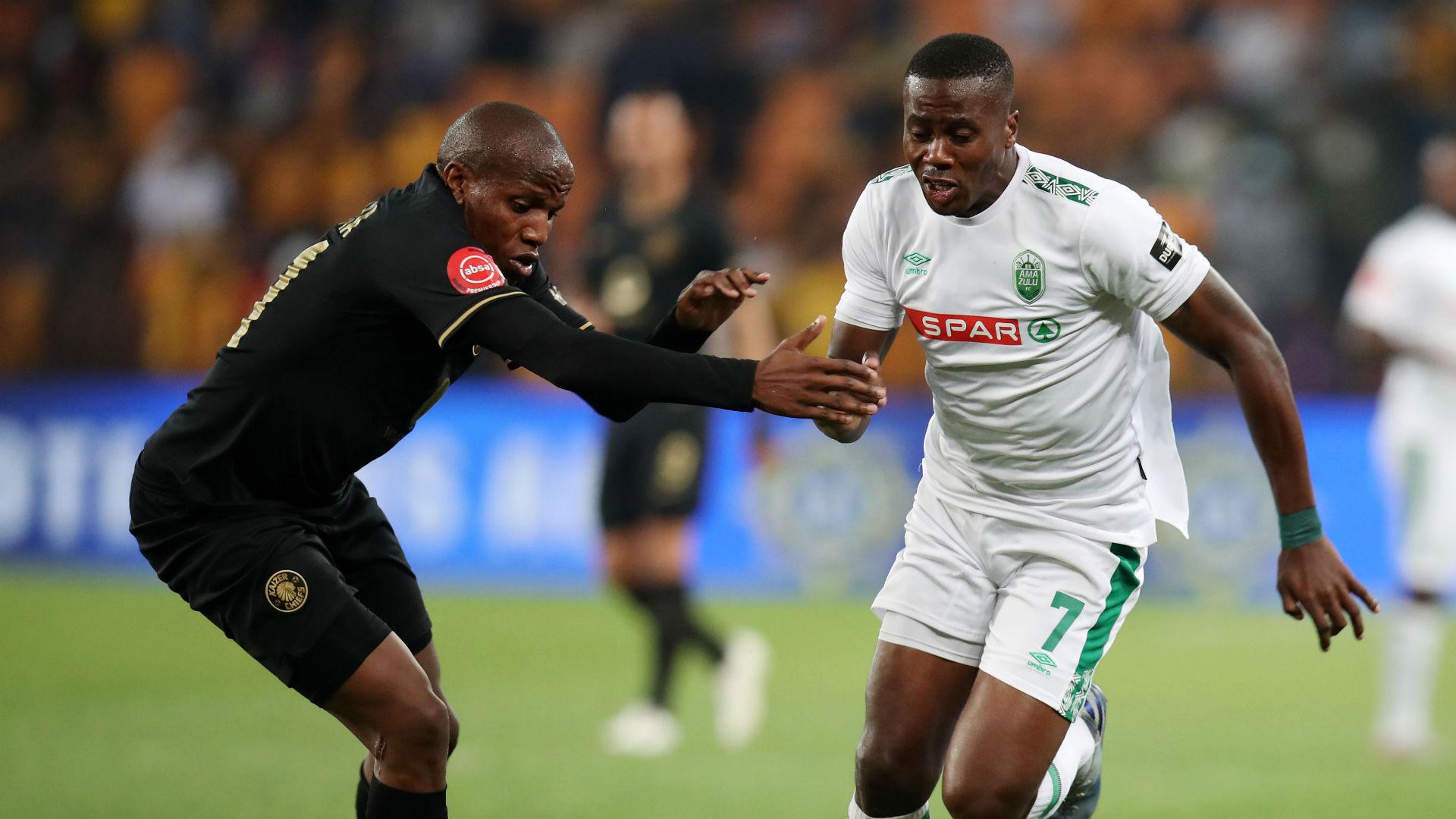 'They helped me perfect my finishing'- AmaZulu's Ntuli credits Nomvethe and Khenyeza for scoring form