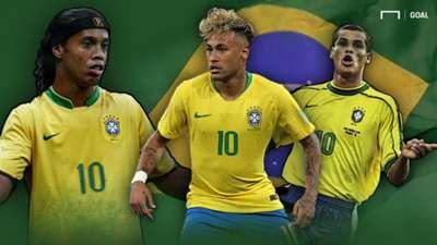 GFX Brasiliens 10er Zehner bei Weltmeisterschaften