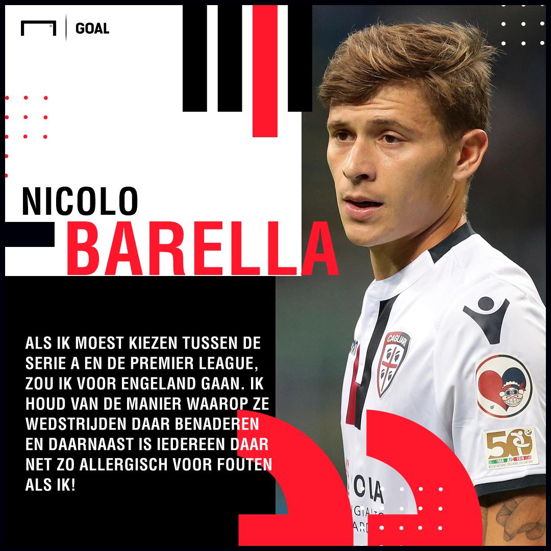 Nicolo Barella quotes Dutch