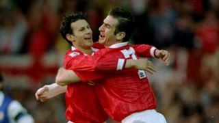 Ryan Giggs Eric Cantona Manchester United