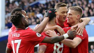 Fred Bruno Fernandes Nemanja Matic Scott McTominay Manchester United 2019-20