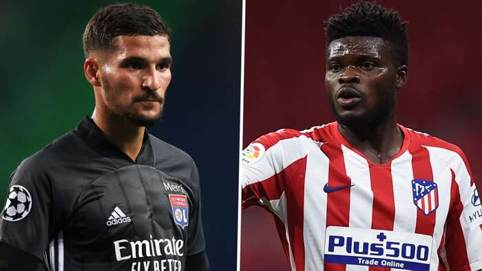 Houssem Aouar Thomas Partey