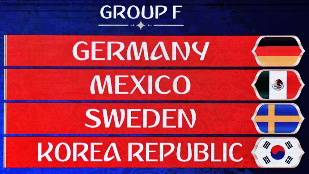 Tabelle Gruppe F Wm 2021