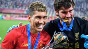 Roberto Firmino Alisson Liverpool Club World Cup 2019-20