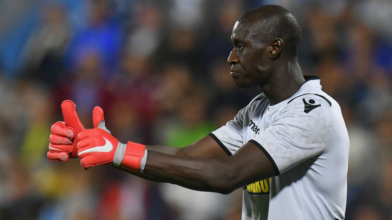 Alfred Gomis SPAL Sassuolo Serie A 09272018