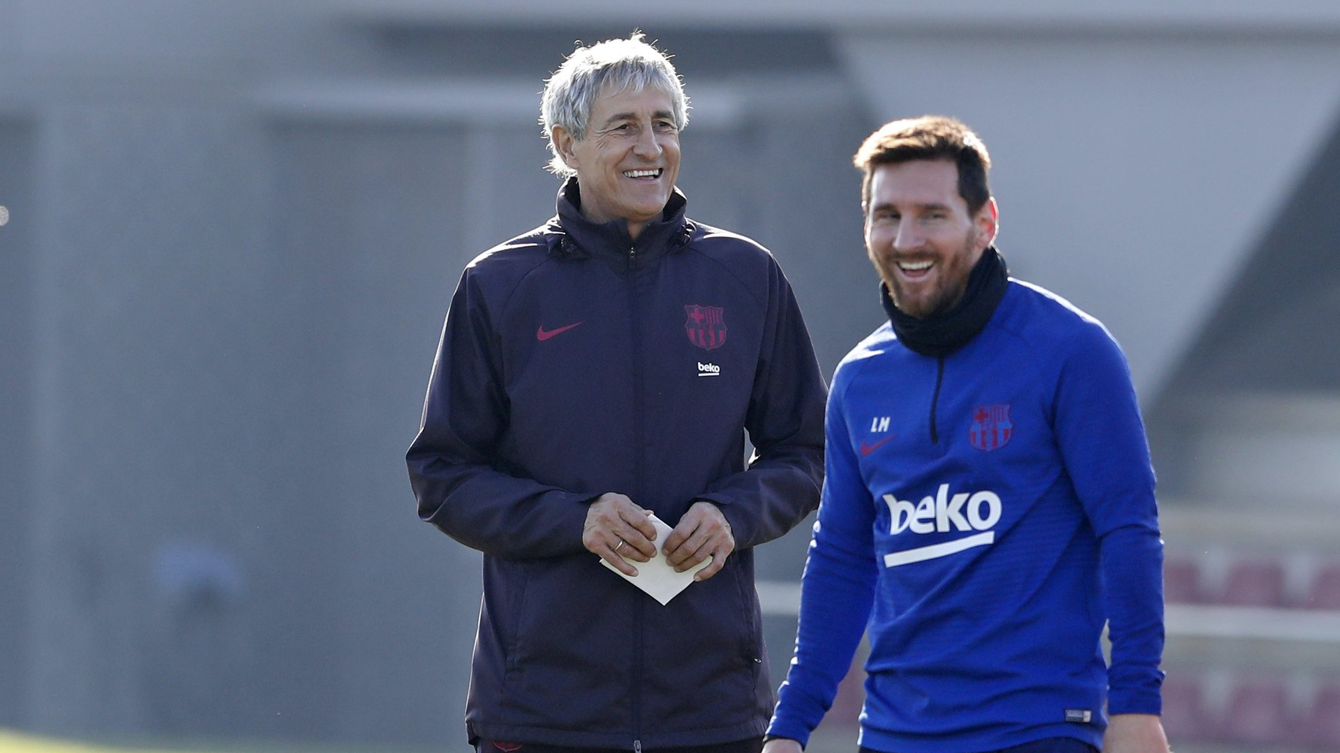 """Barça - Quique Setién : """"Messi ? Cela fait 14 ou 15 ans qu'il fait ça"""""""