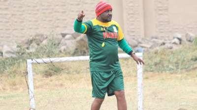 Francis Kimanzi of Mathare United coach.
