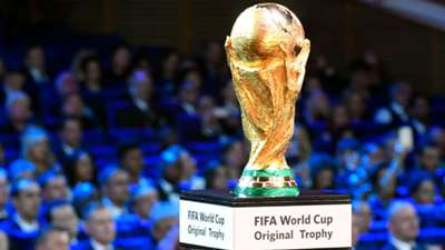 World Cup Trophy FIFA World Cup 2018 draw