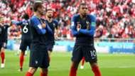 Kylian Mbappe Antoine Griezmann France Peru World Cup 2018 21062018
