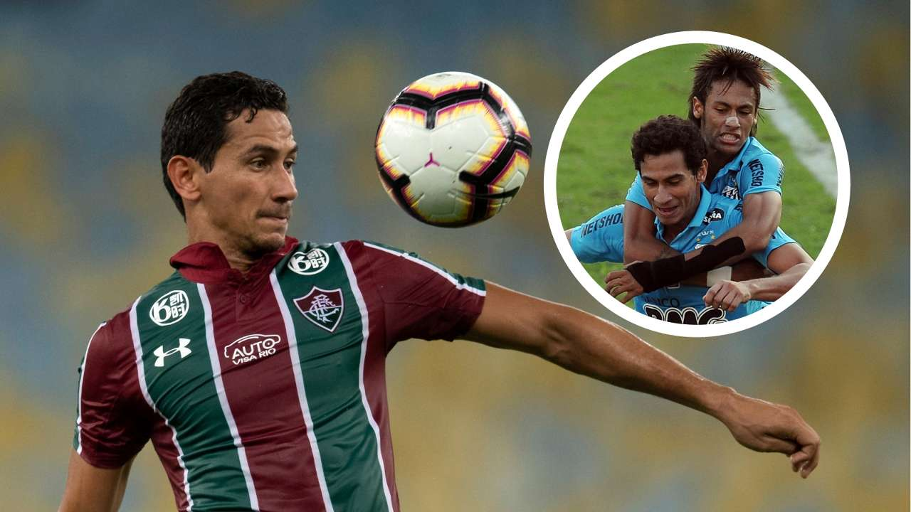 Ganso Neymar Fluminense Santos GFX