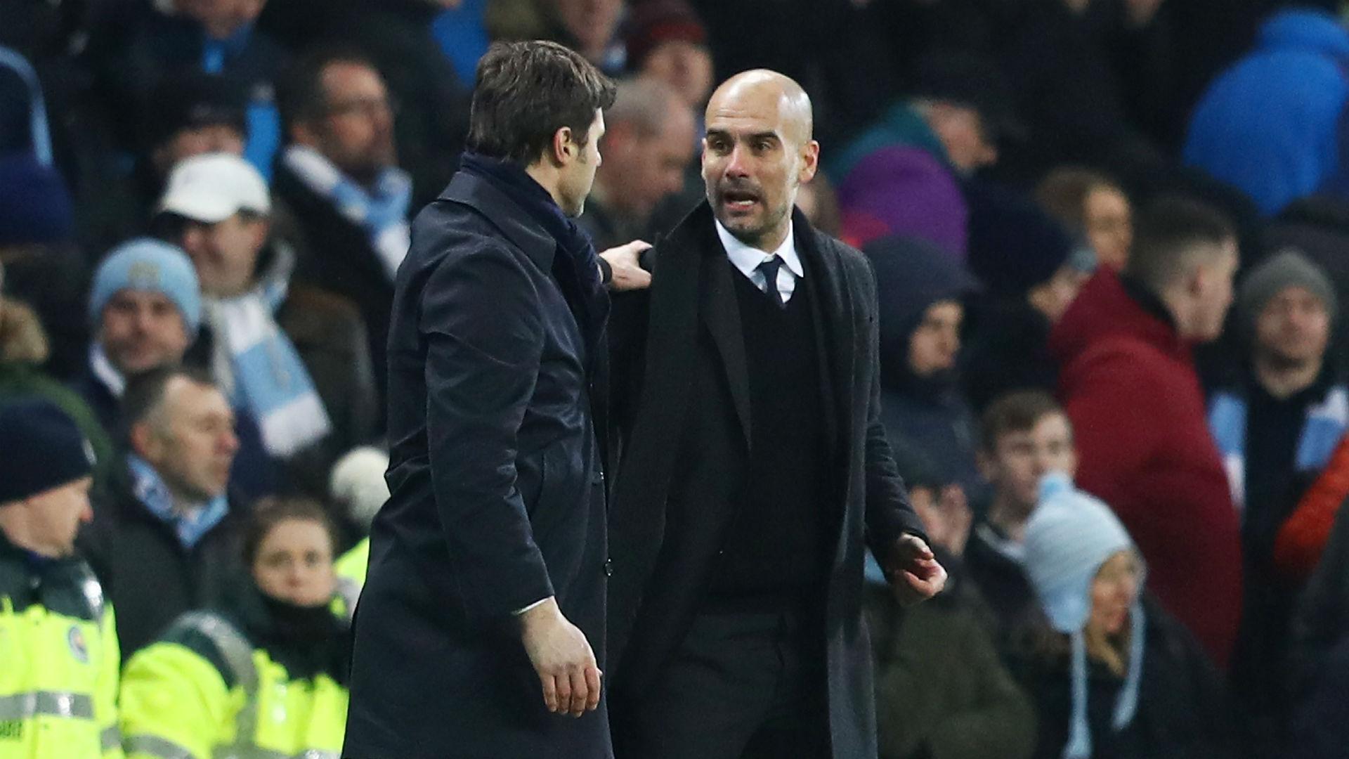 "Manchester City - Guardiola : Pochettino ""ne croit pas"" mes compliments | Goal.com"