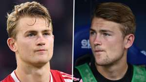 How has De Ligt gone from 'invincible' at Ajax to benched at Juventus?
