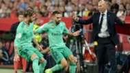 Ramos Zidane Sevilla Real Madrid LaLiga