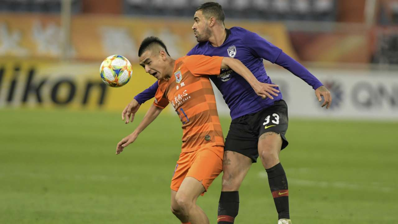 Mauricio, Shandong Luneng v Johor Darul Ta'zim, AFC Champions League, 9 Apr 2019