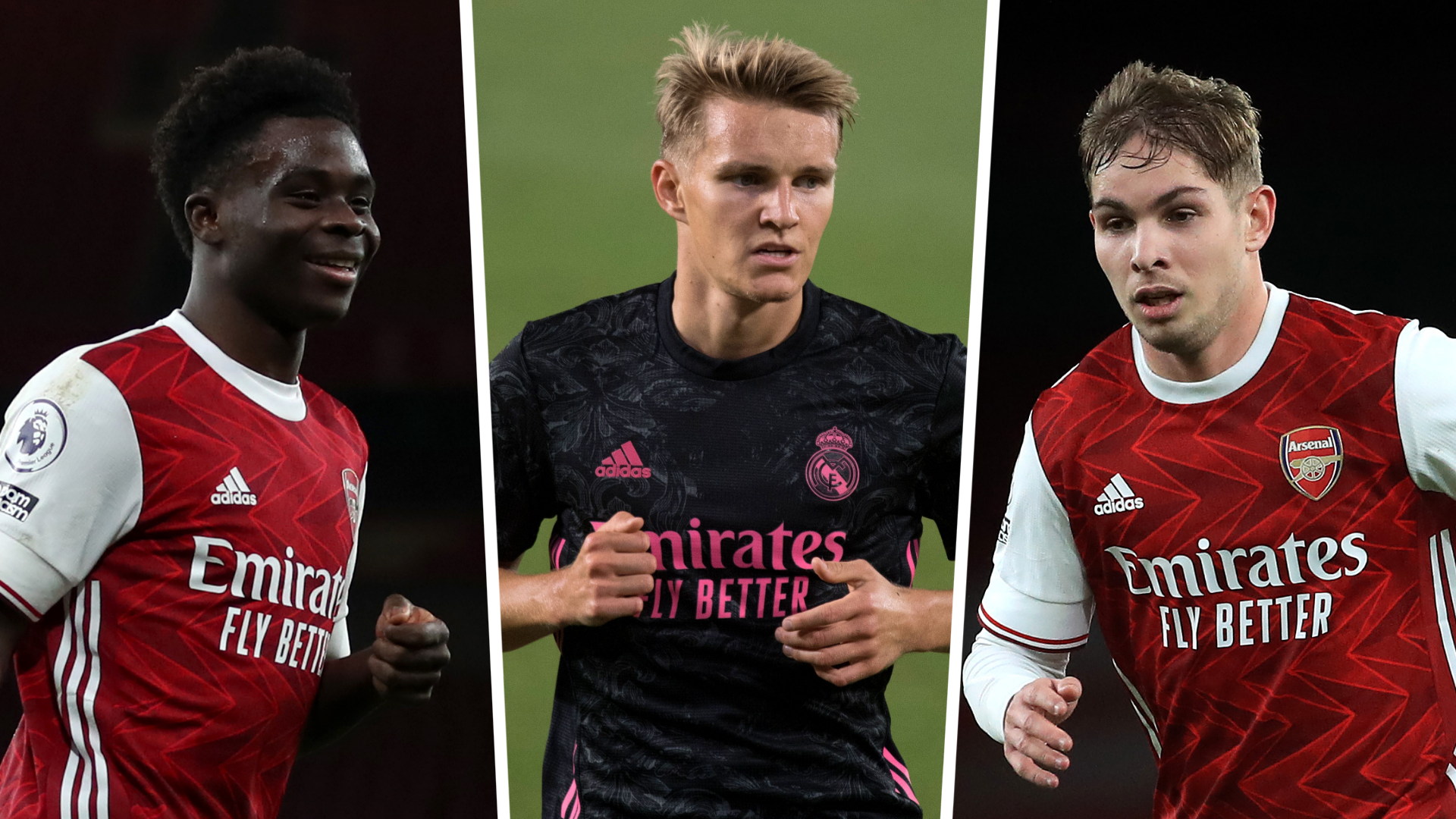 Odegaard, Smith Rowe and Saka together? How Arsenal could line up with new Real Madrid star | Goal.com