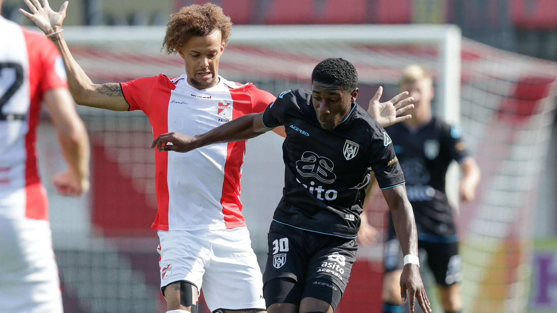 Amissi and Fadiga power Heracles Almelo past Jong FC Utrecht