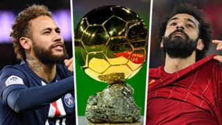 Neymar Salah Ballon d'Or GFX