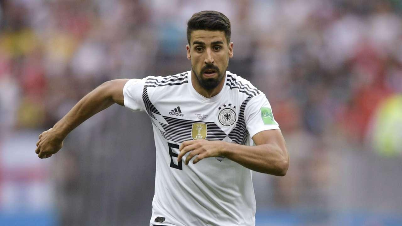 Sami Khedira Germany 2018 World Cup