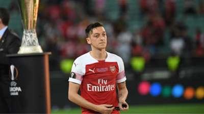 Mesut Ozil Arsenal Chelsea UEFA Europa League final 29052019