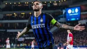 Mauro Icardi PSV - Internazionale Champions League 10032018