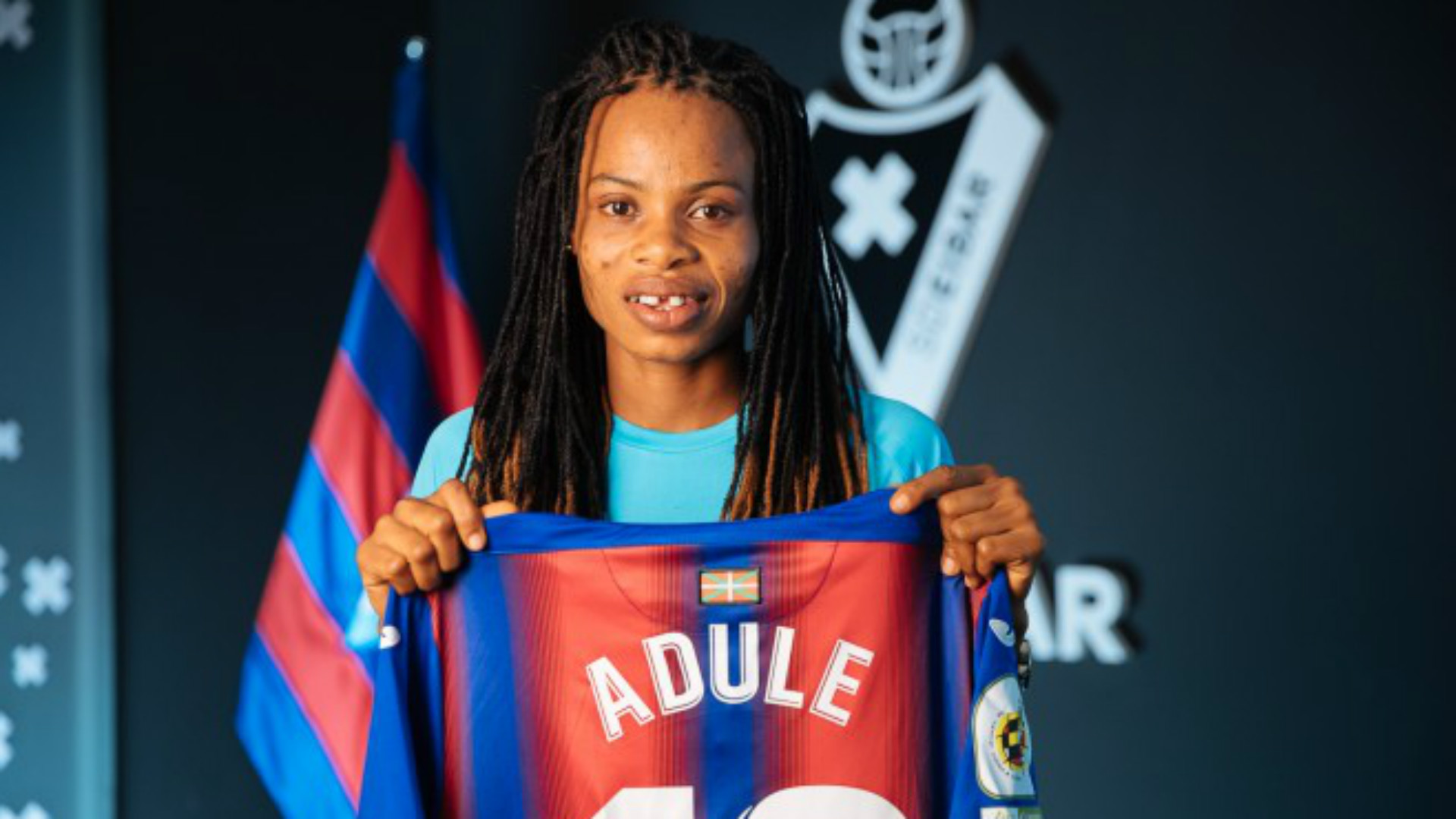 Eibar confirm Charity Adule contract extension until 2022