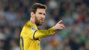 Lionel Messi Barcelona Betis