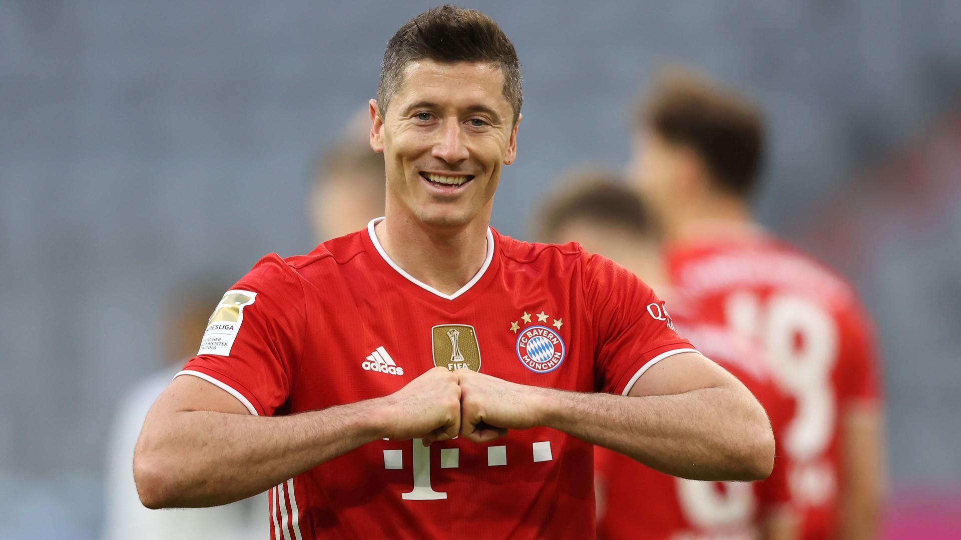 Lewandowski wins Germany's Footballer of the Year for second successive season ahead of Muller & Haaland