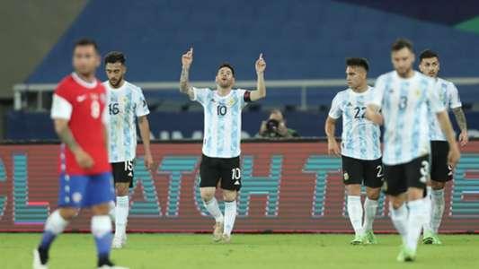 Argentina y Chile firman un empate entretenido en su debut en la Copa América
