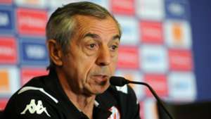 Tunisia coach Alain Giresse