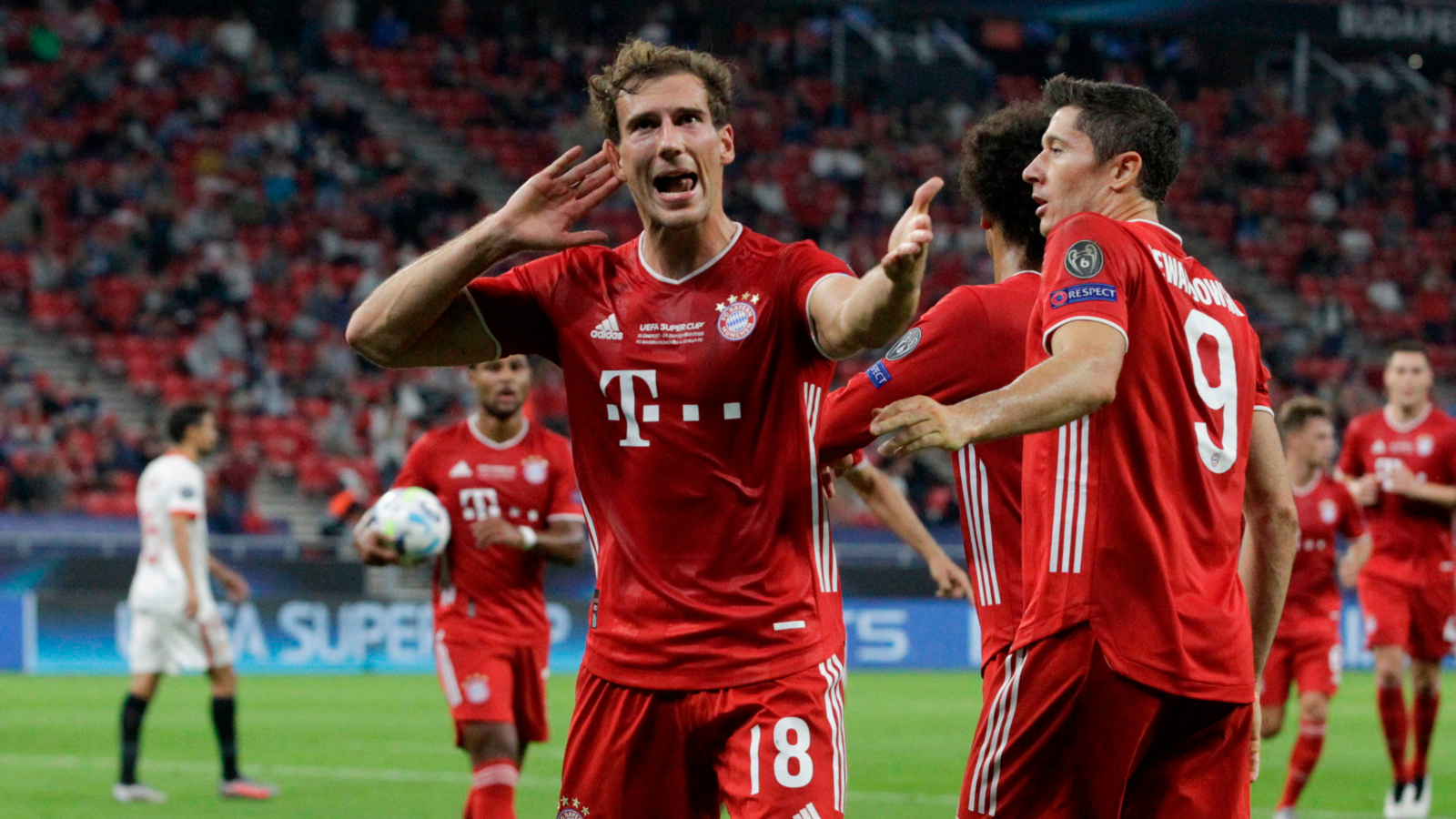 El resumen de la final de la Supercopa de Europa, Bayen Múnich vs. Sevilla:  vídeo, goles y estadísticas | Goal.com
