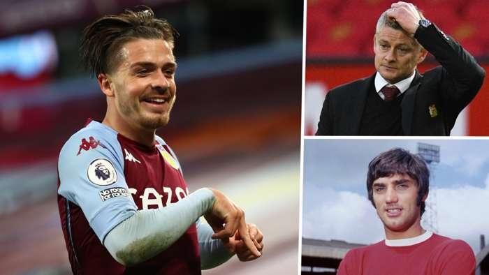 Jack Grealish Solskjaer Best Aston Villa Man Utd GFX