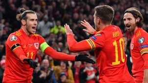Gareth Bale, Aaron Ramsey, Joe Allen, Wales
