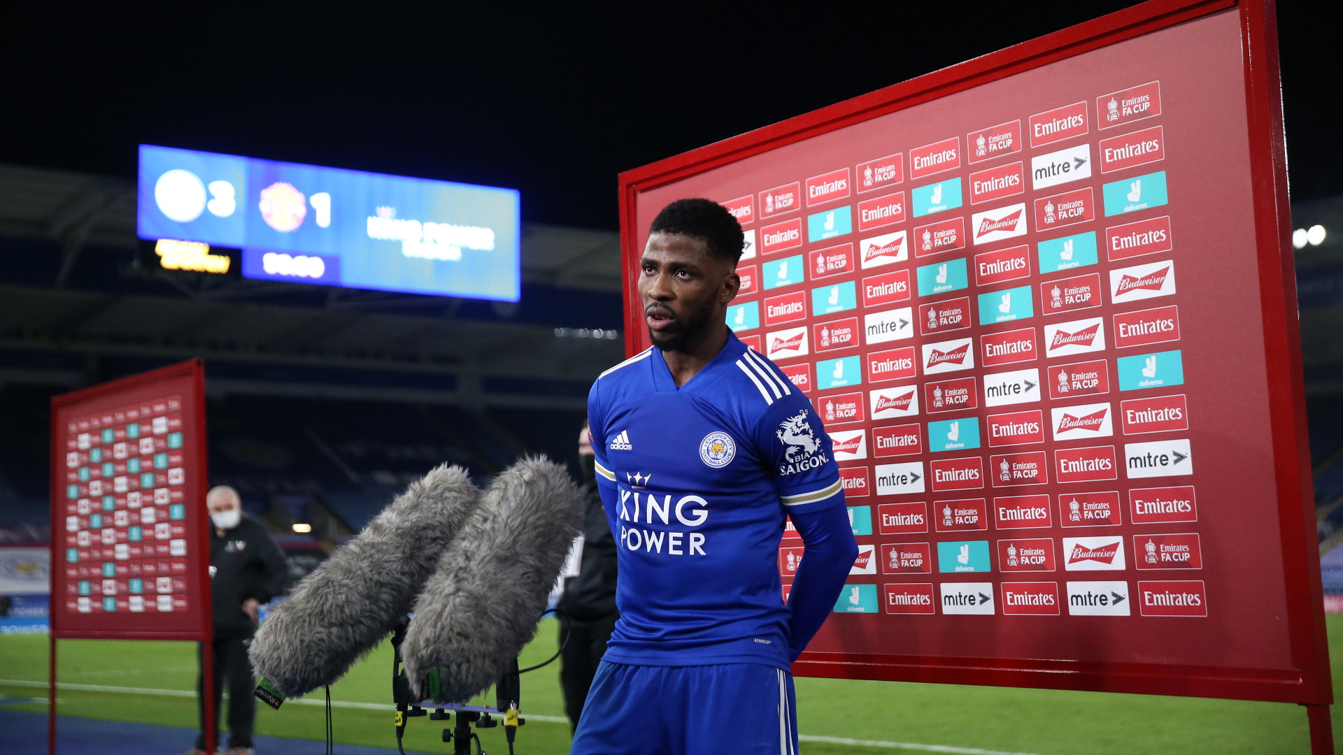 Kelechi Iheanacho is Leicester's key man as club targets historic FA Cup final