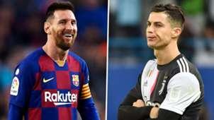 Lionel Messi Cristiano Ronaldo Barcelona Juventus