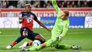 Lille's Victor Osimhen vs Strasbourg