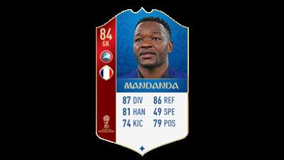 FIFA 18 World Cup France Mandanda