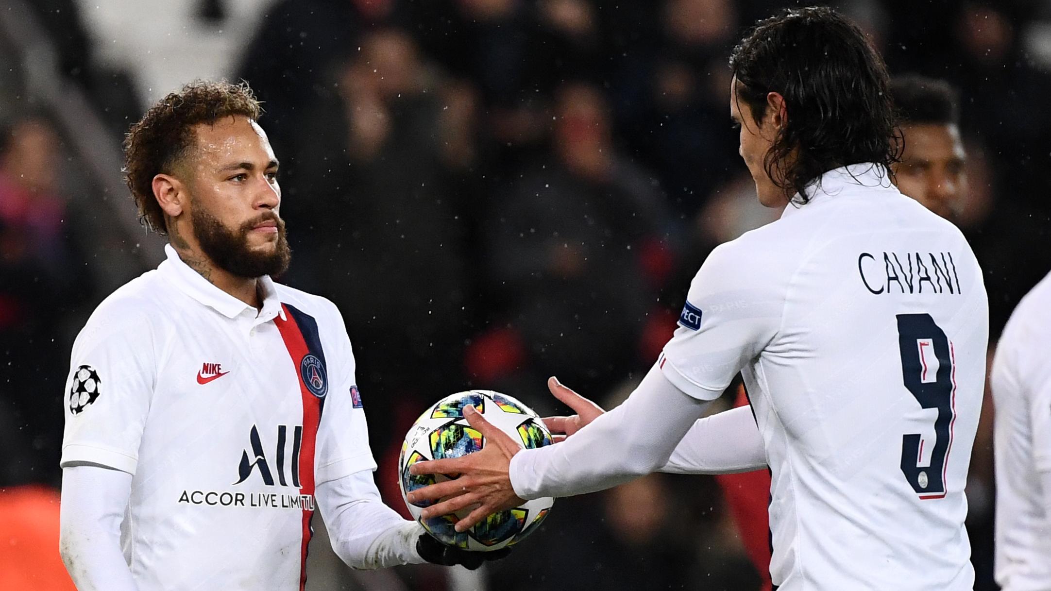 OL-PSG - Cavani encore préféré à Icardi, Neymar titulaire, Di Maria sur le banc