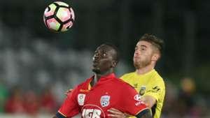 Baba Diawara Central Coast Mariners v Adelaide United A-League 25032017