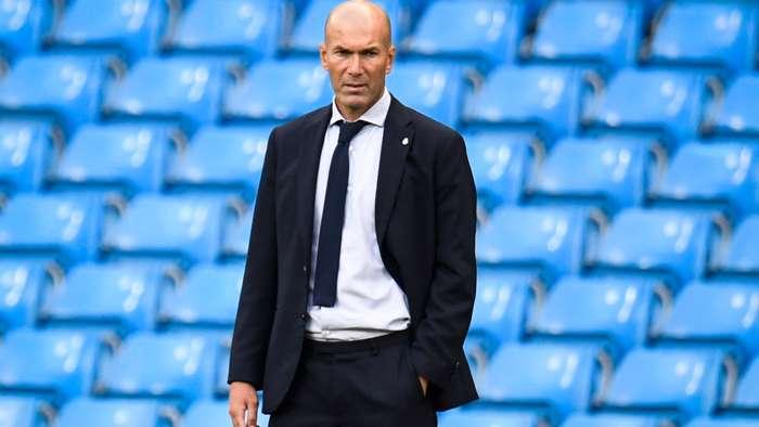 Zinedine Zidane Real Madrid 2019-20 Champions Leagu