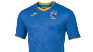 Ukraine away kit Euro 2020 Joma