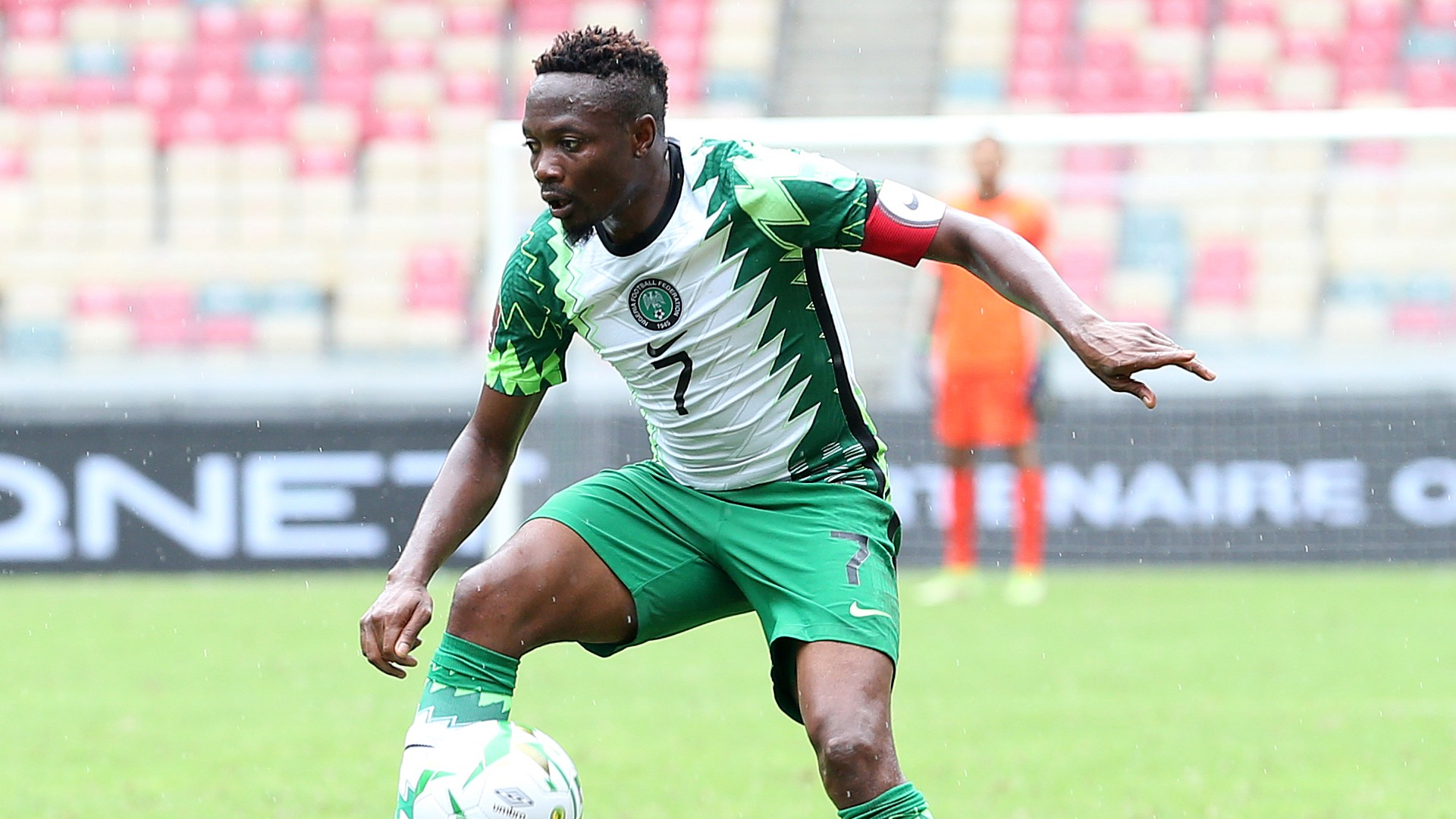 'Thank you so much' – Centurion Musa revels in milestone as Nigeria silence Central African Republic