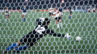 Andreas Brehme West Germany Sergio Goycochea Argentina