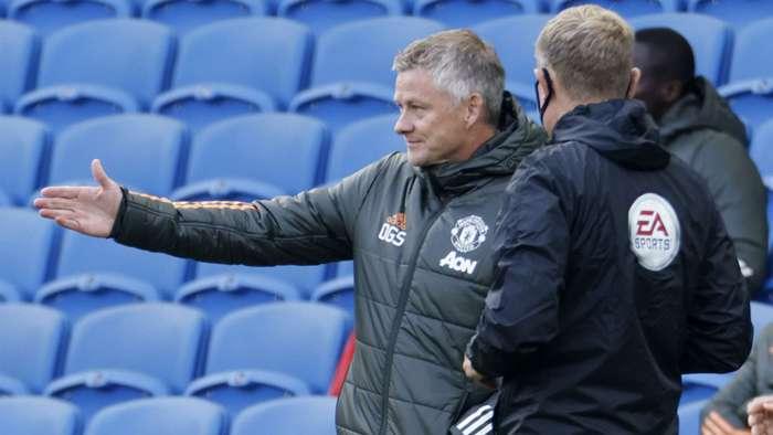 Ole Gunnar Solskjaer Manchester United Brighton 2020-21