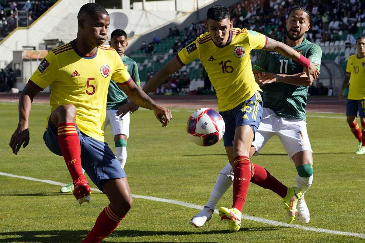 Colombia empata 1-1 vs Bolivia por las eliminatorias.