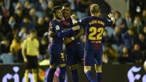 Jose Arnaiz Paulinho Aleix Vidal Celta de Vigo Barcelona Copa del Rey