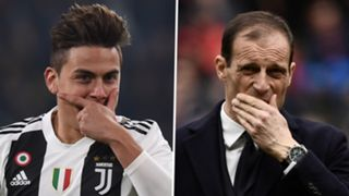 Paulo Dybala Massimiliano Allegri Juventus 2018-19
