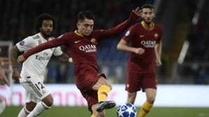 Cengiz Under Roma Real Madrid Champions League