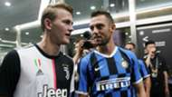 Matthijs de Ligt Stefan de Vrij Juventus - Internazionale 07242019
