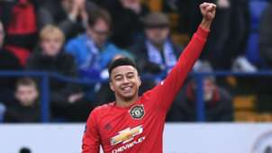 Lingard Manchester United 2020