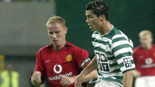 Nicky Butt Manchester United Cristiano Ronaldo Sporting 2003